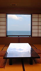 The sea to see from guest room