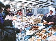 Morning market of Wajima